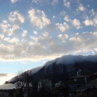 Небо над Гаспрой в марте, Кореиз