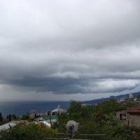 Тяжелое облако, Кореиз