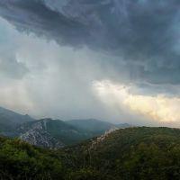 Гроза в Крымских горах, Краснокаменка