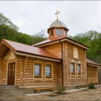 Новый храм Кизилташского монастрыя, Краснокаменка