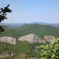 Вид с горы, Краснокаменка