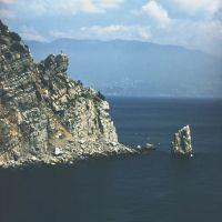 View from Lastochkino Gnezdo. Вид с Ласточкиного Гнезда., Курпаты