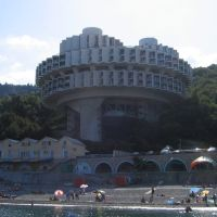 Санаторий на южном берегу Крыма, июль 2004, Курпаты