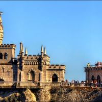 Castle. Swallows nest / Замок. Ласточкино гнездо., Курпаты