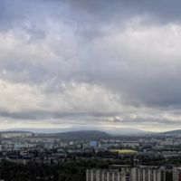 Panorama. Clouds, Мисхор