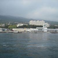 Остров Крым, Оползневое