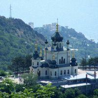 Foros Church of the Resurrection, Парковое
