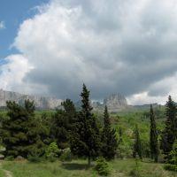 Вид на скалу Исар (05.2009), Понизовка