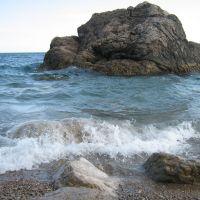 Кацивели. Пляж., Понизовка
