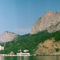 Panorama Południowego wybrzeżu Krymu  91, Санаторное