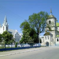 Костел Святой Анны (1811), церковь Успения Пресвятой Богородицы (1757)., Бар