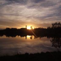 закат в браиловском монастыре, Браилов