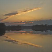 Захід на озері, Браилов