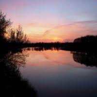 Закат на Южном Буге (пгт. Брацлав), Брацлав