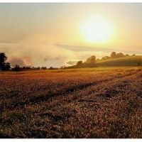 Sunrise.Southern Buh river. Bratslav. Ukraine / Брацлав. вид на р.Южный Буг., Брацлав