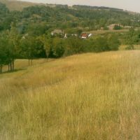View from hill in Izrailovka, Вендичаны