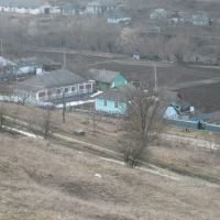 View from hill in Grabarovka, Ukraine, Vinnitsa, 2010, Вендичаны