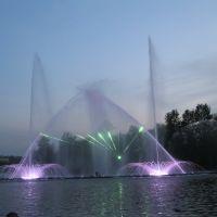 Вінниця - водно-світлове шоу фонтану «Рошен», Винница