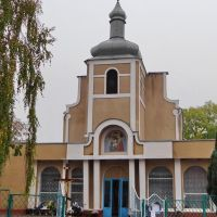 Вороновиця - церква Різдва (церква-магазин), Voronovytsya - сhurch of the Nativity, 1771, Вороновица
