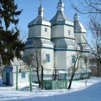 Михайловская церковь. с. Ганщина, Вороновица