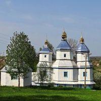 Вороновиця - Михайлівська церква, Voronovytsya - St. Michael's church, Михайловская церковь, 1752, Вороновица
