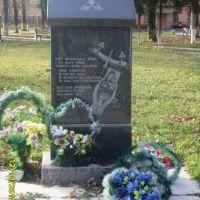 Памятник погибшим на ЧАЭС, Гнивань