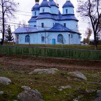 Старая козацкая церковь в Дашеве (18в.)., Дашев