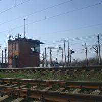 Железнодорожная линия Жмеринка - Подволочиск. Перегон Жмеринка-Подольская - Жмеринка. Маневровый пост, Жмеринка