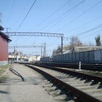 Станция Жмеринка. Вид на вокзал, Жмеринка
