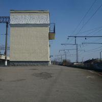 Станция Жмеринка. 4 и 5 платформы. Вид в сторону Котовска, Жмеринка