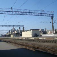 Станция Жмеринка. 4 платформа. Вид в сторону Винницы, Жмеринка