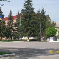 Центральная площадь, Ильинцы