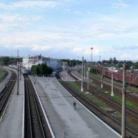 г.Казатин На распутье дорог (панорама ж/д вокзала), Казатин