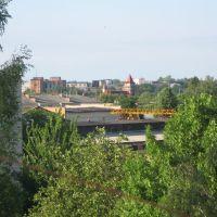 панорама на спиртзавод, Калиновка
