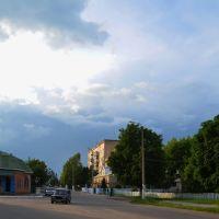 Вечернее небо над Крыжополем, Крыжополь