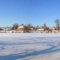 Панорама у речки (Зима 2014), Липовец