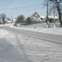 Заснеженная дорога, Липовец
