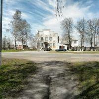 Панорама на выезде из города, Липовец