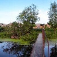 Панорама на железном мостике, Липовец