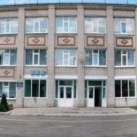 Панорама здания школы, Липовец