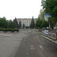 в центрі, Могилев-Подольский