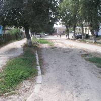 Одна из улиц в центре, Погребище