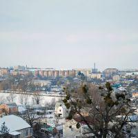 Вид на юго-западную часть города., Тульчин