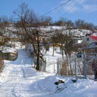 Дорога в верх на холмы., Тульчин