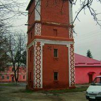 Старая водонапорная башня на территории школы-интернат, Тульчин