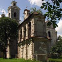Polski kościół - Berestechko, Берестечко