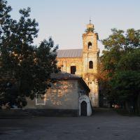 ввечері біля старого костела * near the old catholic church, Берестечко