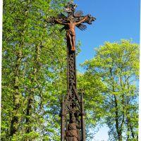 Берестечко. Хрест біля церкви в Пісках, Берестечко
