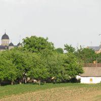 Вид на місто з каплиці, Берестечко