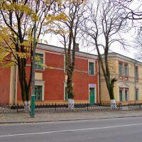 Бывший доминиканский монастырь 1497-1789гг,сейчас корпуса профтехучилища., Владимир-Волынский